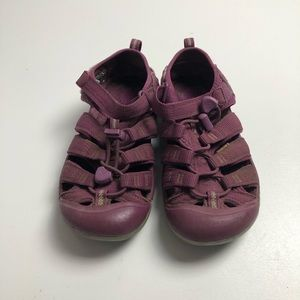 3/$30 Keen Youth Girls Purple Sandals Size 2